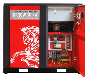 Kompresor śrubowy ARROW 30 kW 4170 l/min 250m3/h