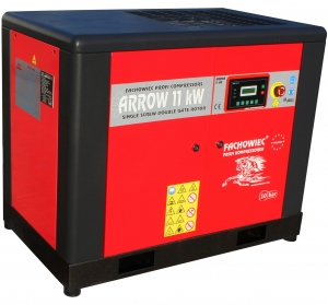 Kompresor śrubowy ARROW 11 kW 1600 l/min